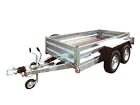 Goods Trailer 4 Wheels