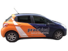 Small Promotional Car
